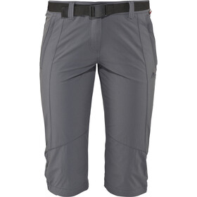 Maier Sports Kluane 3/4 Broek Dames, graphite